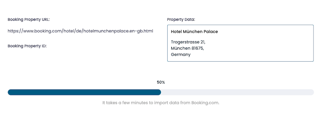 CultBay Import data from Booking.com